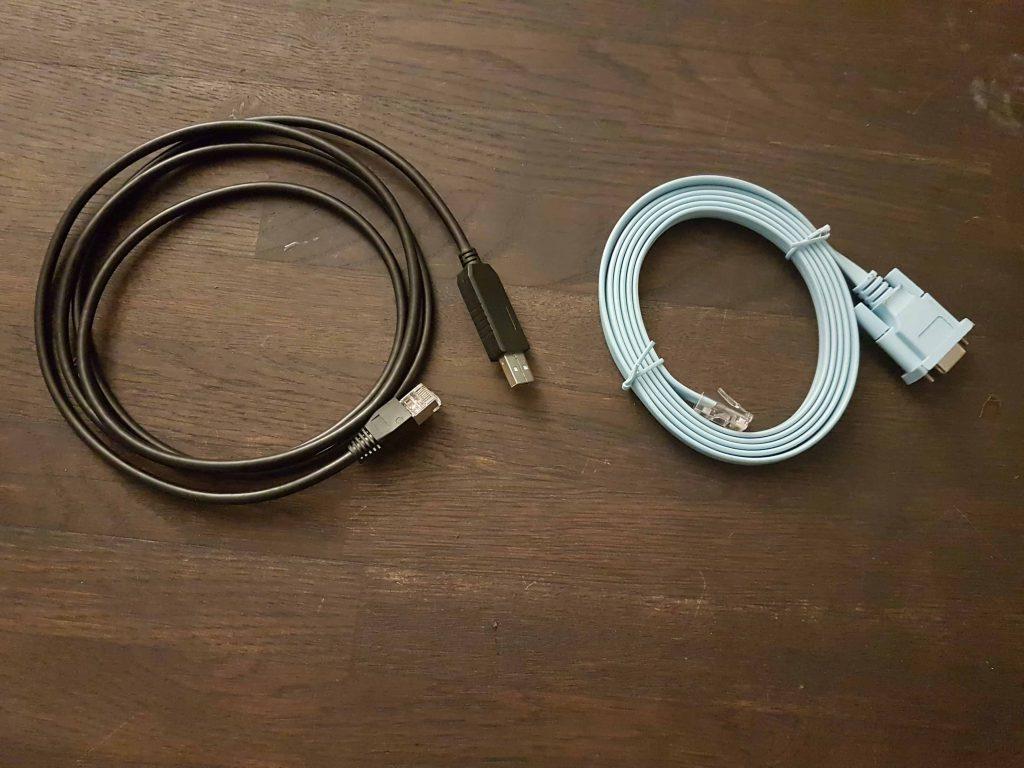 kable cisco do połączenia z komputerem