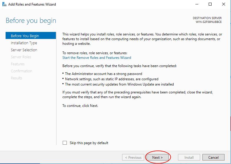 Kreator instalowania nowych funkcji