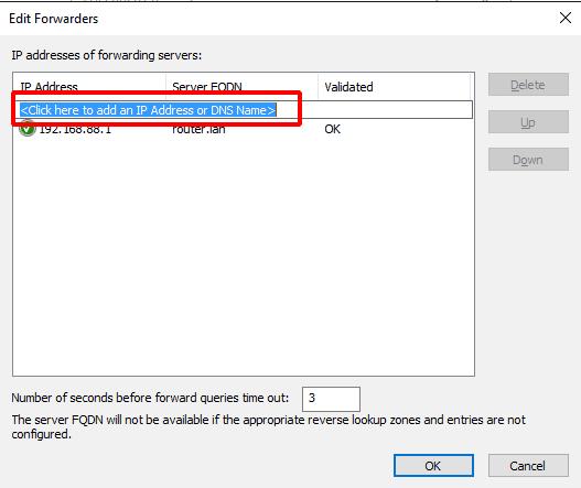 Dopisanie nowego adresu DNS