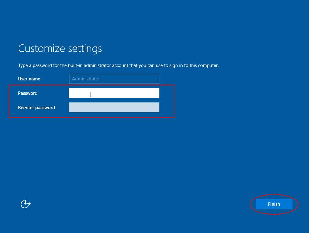 tworzenie konta administratora
