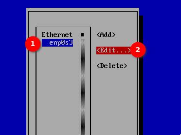 Wybór interfejsu do edycji